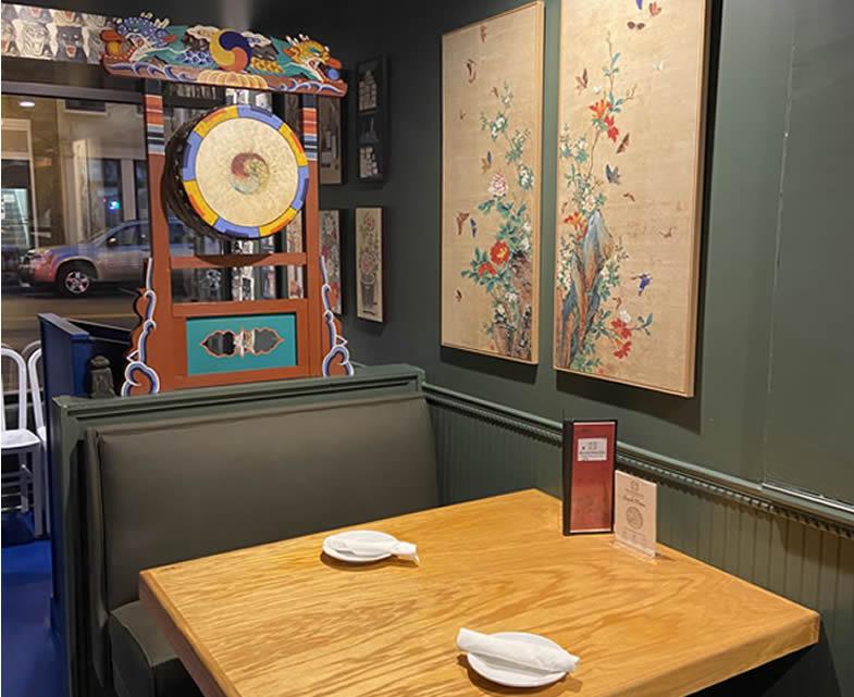 Family-Friendly Environment at Riverside Korean Restaurant & Bar