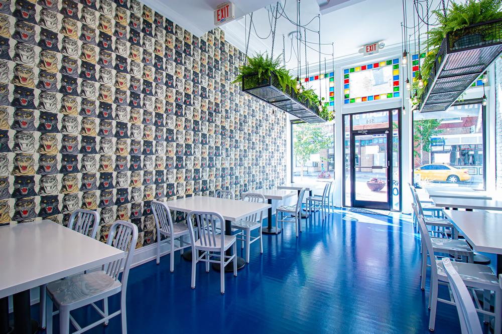 Riverside Korean Restaurant View from Side